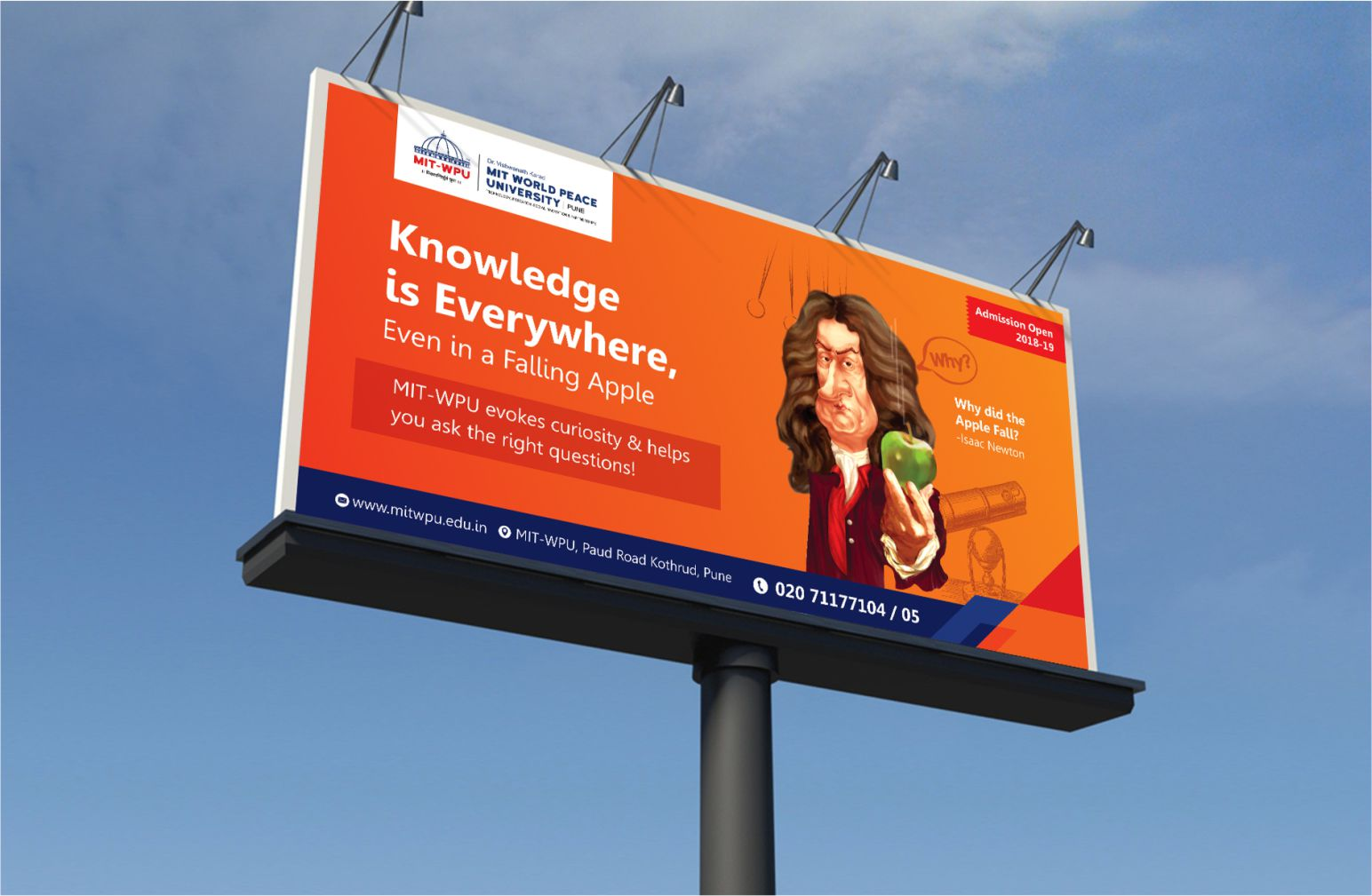 onezeroeight-mit-casestudy-outdoor-campaign-knowledge-is-everywhere-isaac-newton